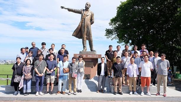 社員旅行(北海道)1班